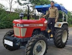 MS Dhoni's Latest Mean Machine Is A Mahindra Swaraj Tractor