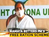 Video : After PM's 'Free Ration' Move, Mamata Banerjee Takes It Up A Notch