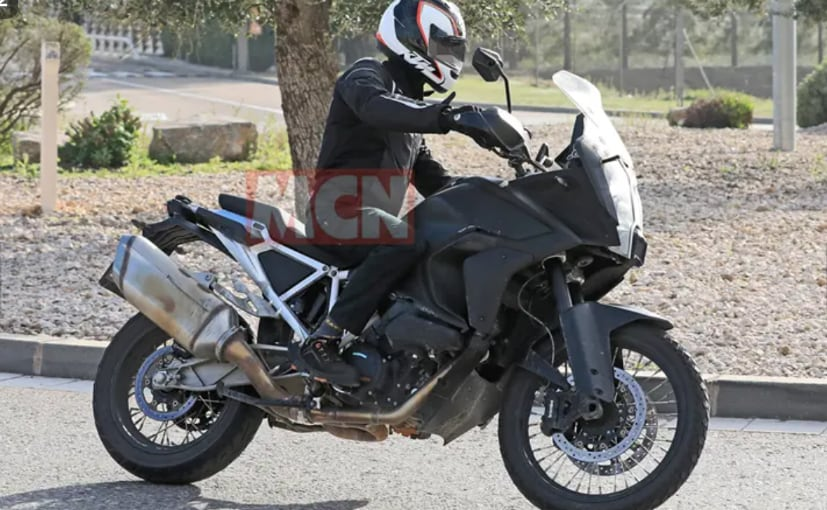 KTM 1290 Super Adventure Spotted On Test Again