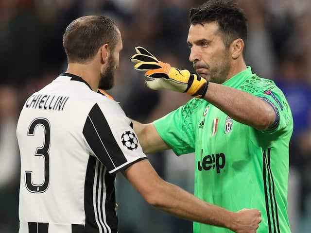 Gianluigi Buffon, Giorgio Chiellini Extend Juventus Contracts To 2021