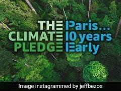 "Infosys Joins Amazon-Backed Climate Pledge. ""Big Thanks,"" Says Jeff Bezos"