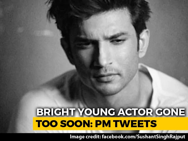 """Video : """"Bright Young Actor Gone Too Soon"""": PM On Sushant Singh Rajput's Death"""