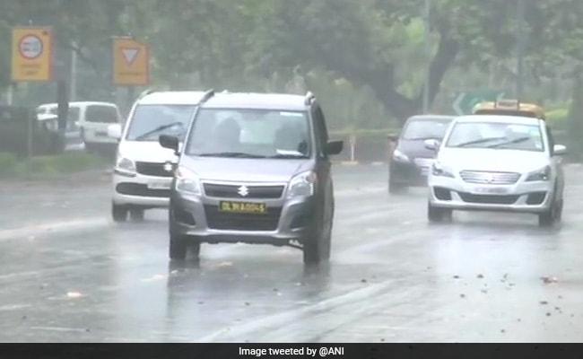 Monsoon Arrives In Delhi, Heavy Rain In Several Areas
