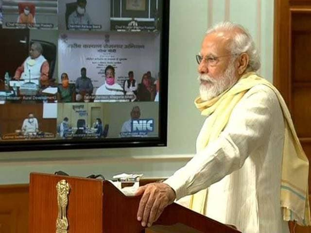"""Video : """"Those Who Eyed Indian Territory In Ladakh Received Befitting Reply"""": PM"""