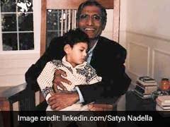 Microsoft Boss Satya Nadella Remembers His Father, Shares Childhood Pics