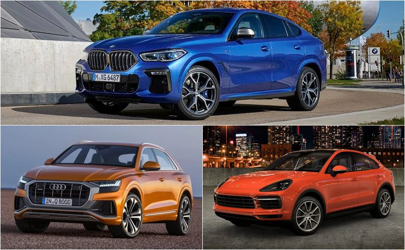 Currently, the BMW X6 competes with the Audi Q8 and the Porsche Cayenne Coupe in India