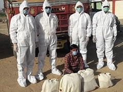 जरूरी सेवाओं का स्टीकर लगाकर करते थे अफीम की तस्करी, नारकोटिक्स सेल ने PPE किट पहनकर पकड़ा