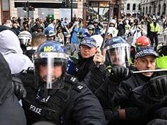 Over 100 Arrested After Violent Disorder At Far-Right Linked UK Protest