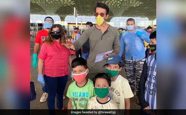 Actor Sonu Sood Adopted By BJP To Show Us In Poor Light, Says Shiv Sena