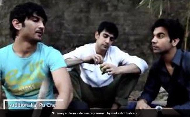 सुशांत सिंह राजपूत ने 'काई पो चे' फिल्म का कुछ इस तरह दिया था ऑडिशन, अब Video हो रहा है वायरल