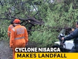 Video : Cyclone Nisarga Strikes Alibaug Near Mumbai