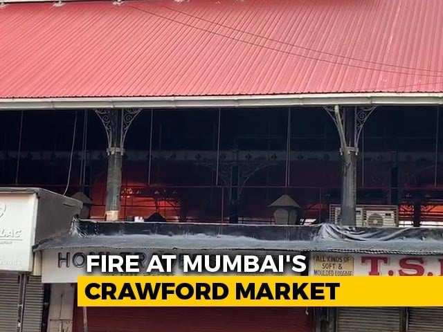 Video : Fire Breaks Out At Mumbai's Iconic Crawford Market, Fire Engines Rushed