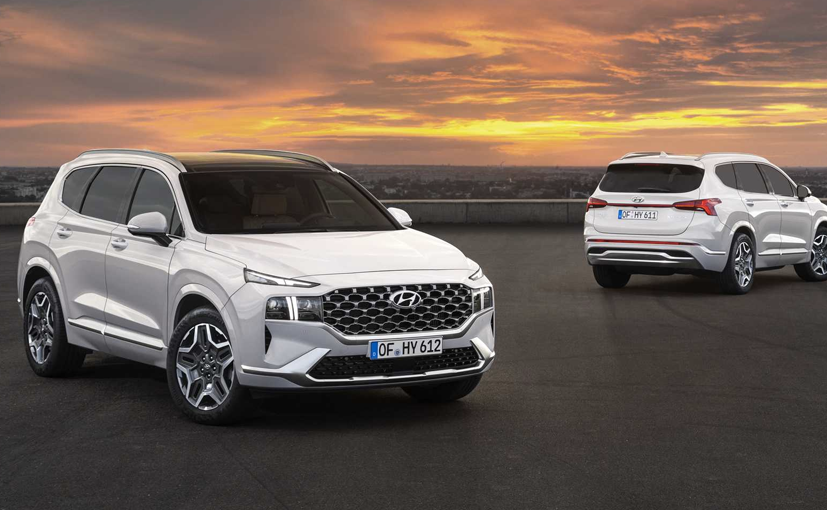 The new Hyundai Santa Fe is a huge departure in terms of design as well over its predecessor