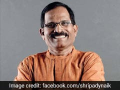 AYUSH Minister Shripad Naik Has Covid, Will Be In Home Isolation