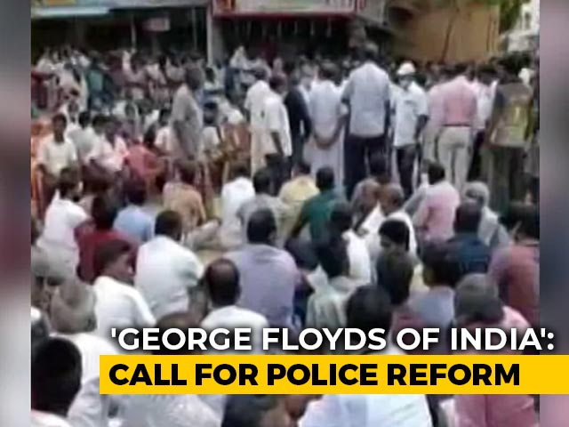 """Video : """"George Floyds Of India"""": Anger Over Tamil Nadu Deaths In Police Custody"""