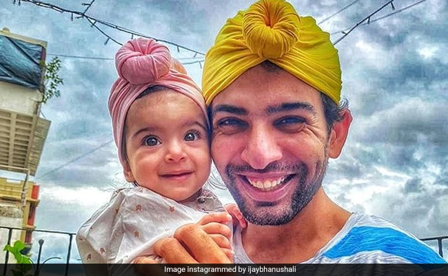 Television Actor Jay Bhanushali, Who Is Excited For His 'First Father's Day,' Posted This