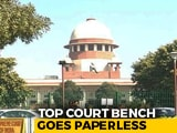 Video : In A First, Supreme Court Goes Paperless As Judges Use Laptops