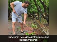 सलमान खान ने अपने फार्म पर तूफान के बाद की साफ-सफाई, कर्मचारियों संग मिलकर लगाई झाड़ू... देखें Video