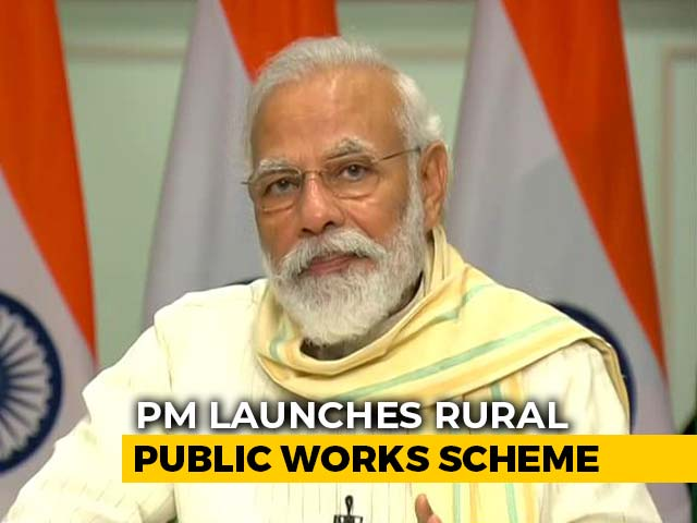 Video: PM Launches New Scheme Worth ₹50,000 Crore To Create Jobs For Migrants