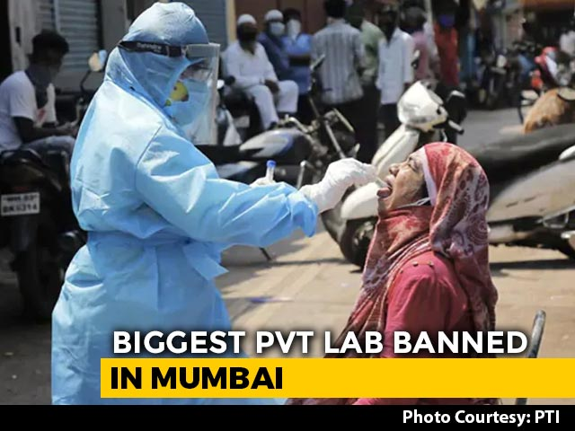 Video : Top News Of The Day: Mumbai's Biggest COVID-19 Testing Lab Banned For A Month