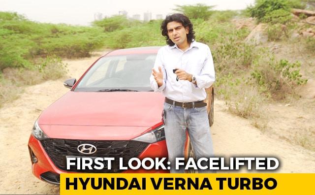 Video: Hyundai Verna Facelift: First Look