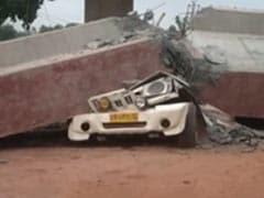 उत्तर प्रदेश के एटा में निर्माणाधीन फ्लाईओवर का हिस्सा गिरा, दो लोगों की मौत