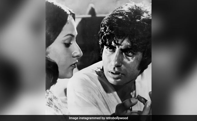 Amitabh Bachchan Reveals He Shot His 'First Drunk Scene' For Mili, Co-Starring Wife Jaya