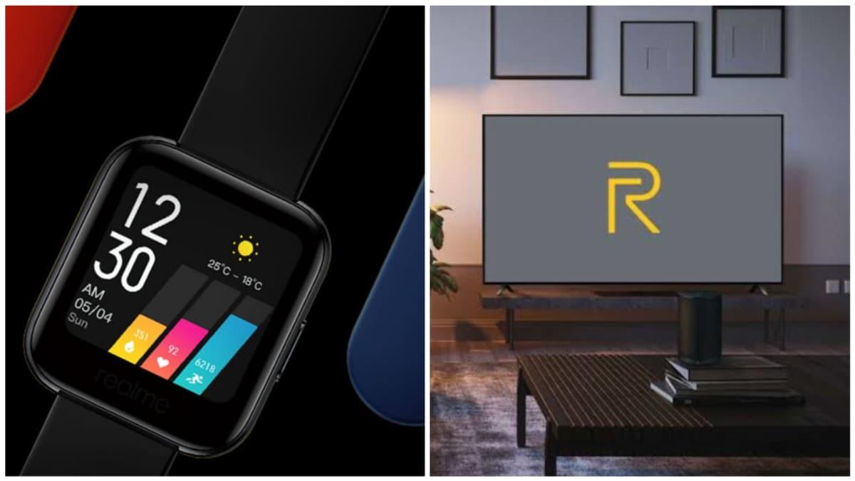 Realme Watch और Realme TV की सेल आज दोपहर 12 बजे, जानें कीमत और स्पेसिफिकेशन