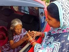 एमपी : 40 साल पहले परिवार से बिछड़ी 93 साल की महिला को Google ने मिलवाया, नम आंखों से लोगों ने किया विदा