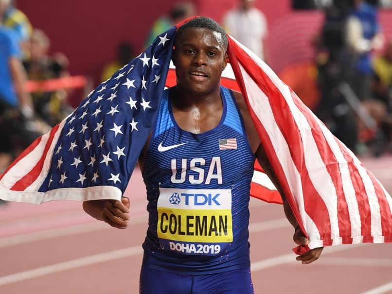 World 100m Champion Christian Coleman Suspended Over New Missed Test