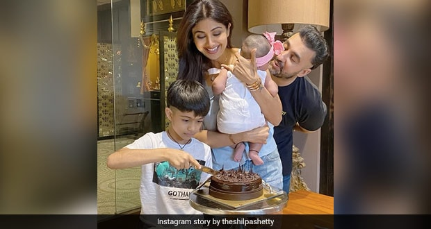 Shilpa Shetty's Birthday Cake By Husband Raj Kundra Is Giving Us Major Baking Goals