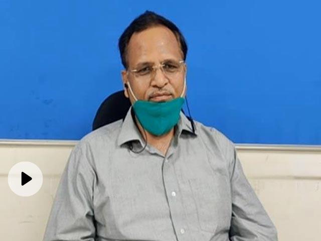 दिल्ली के स्वास्थ्य मंत्री सत्येंद्र जैन को कोरोना, टेस्ट रिपोर्ट पॉजिटिव