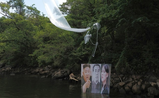 Defectors Launch Anti-North Korean Balloons Near Border