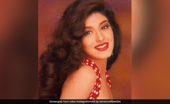Sonali Bendre's Throwback To Retro Fashion Days Gets A Whole Lot Of Love On The Internet