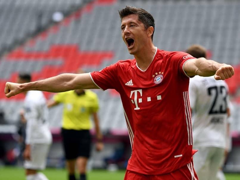 Bundesliga: Robert Lewandowski Scores Hat-Trick As Bayern Munich Thrash Eintracht Frankfurt 5-0