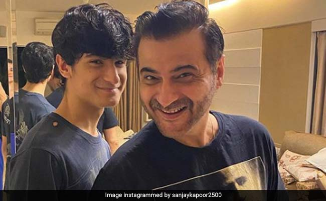 Sanjay Kapoor And Son Jahaan Got 'Snazzy' Haircuts At Home. Here's How They Look Now