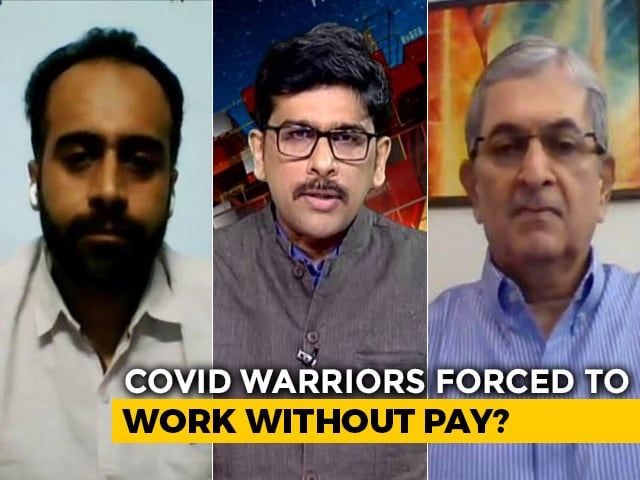 Video : Doctors Without Pay: Insulting Our COVID Warriors