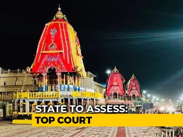 Video : Odisha Government Can Decide On Allowing Rath Yatra This Year: Top Court