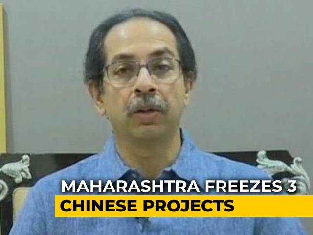 Video : Maharashtra Pauses 3 Chinese Projects Days After Ladakh Clash