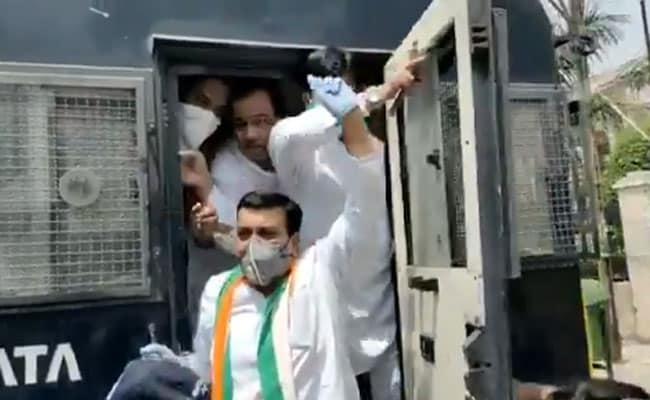 शिवराज सिंह के कथित ऑडियो पर बवाल, सड़क पर कांग्रेस कार्यकर्ताओं का हंगामा