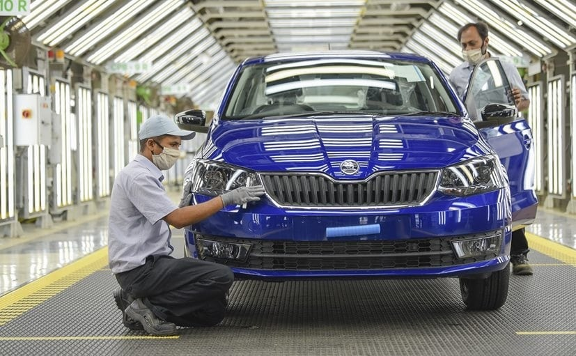 Skoda Auto Volkswagen India Resumes Production At Pune Plant