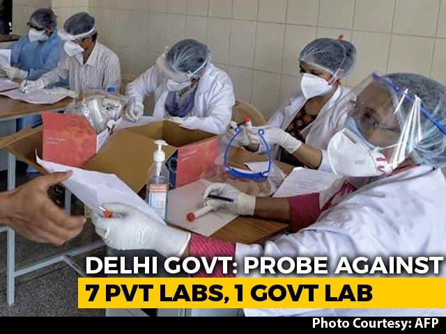 Video : Delhi Probes 8 Labs For Testing Asymptomatic Patients, Result Delay