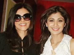"""So Happy To See You Back"": Shilpa Shetty's Appreciation Post For Sushmita Sen And Her Comeback Web-Series <I>Aarya</I>"