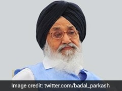 """Harsimrat's resignation Over Farm Bills Historic Stand"": Parkash Singh Badal"