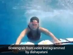 दिशा पटानी ने दिखाया नया अंदाज, समुद्र में तैराकी करती आईं नजर- देखें Video
