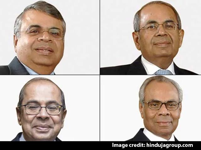 Video : Hinduja Brothers Fight Over Letter Dividing $11 Billion Fortune
