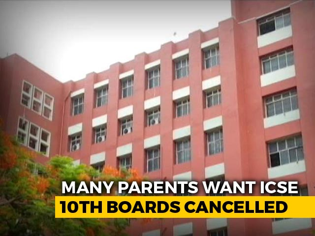 Video : All Safety Measures Will Be Taken, CISCE Tells Court As Parents Protest Against July Exam