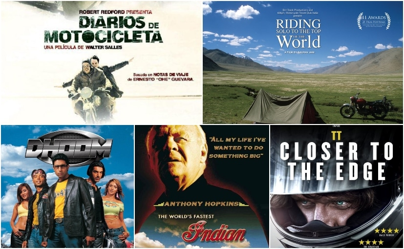 Here are our top five movie picks that you must watch this World Motorcycle Day