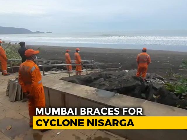 Video : Mumbai On Alert As Nisarga, City's 1st Cyclone In Over A Century, Nears