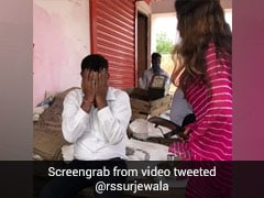 On Camera, BJP's TikTok Star Sonali Phogat Hits Official With Slippers